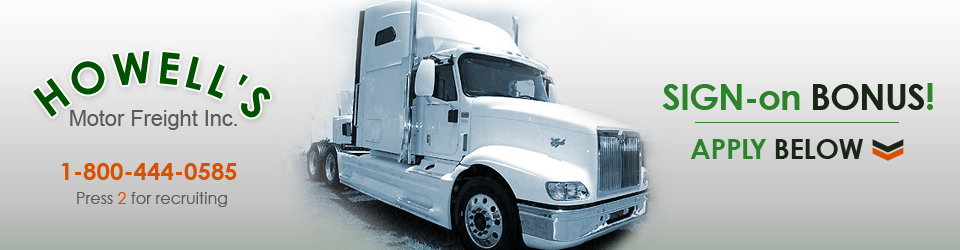 Howell 39 S Motor Freight Hiring Drivers Now